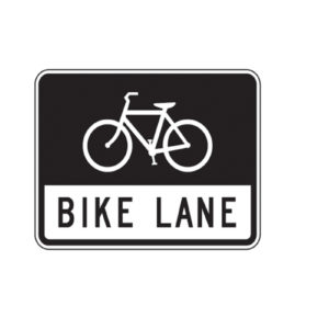 Bike Lane Sign R3-17