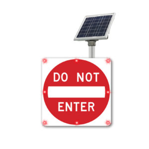 Do_Not_enter_blinkersign