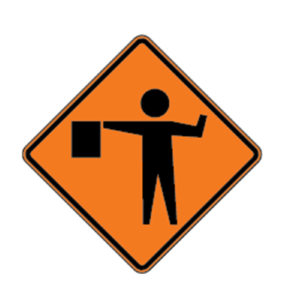 Flagger_ahead