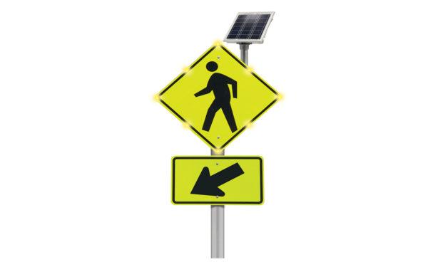 Pedestrian Crosswalk Blinkersign