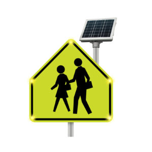 School_crossing_blinkersign