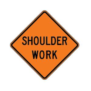 Shoulder_work_ahead