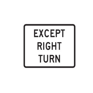 Except_right_turn