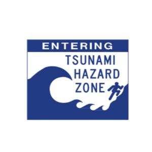 Entering Tsunami Zone