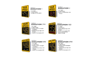 SafePace Evolution Series Radar Signs