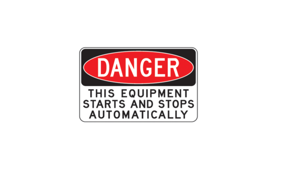 This Equipment starts and stops
