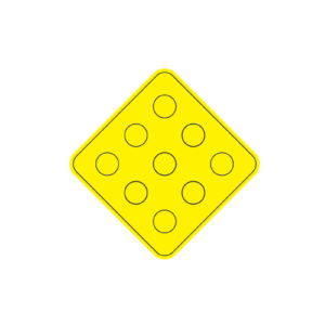 yellow object marker