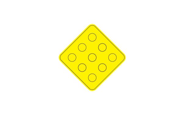yellow object marker