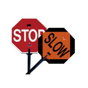 Stop Slow LED Paddle
