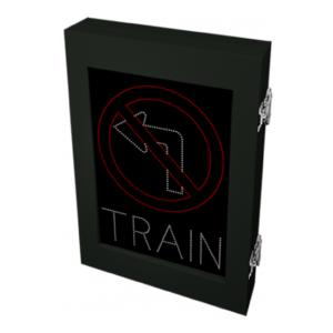 left turn train